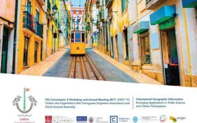 AGIT presente a Lisbona il 29 novembre per il Meeting annuale del FIG Commission 3