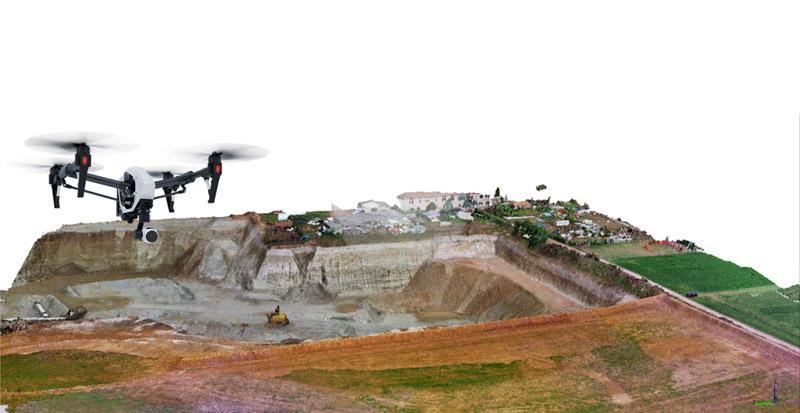 Topografia da DRONE