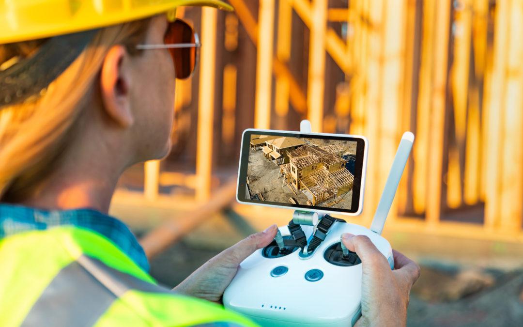 I droni nell'esercizio della professione del topografo